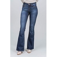 Shelly Flare Leg Denim Jeans