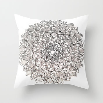 Mandala 1 Throw Pillow by Designs By Anne | Society6