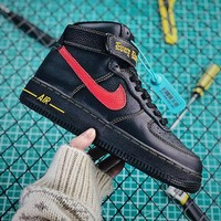 VLONE x Nike Air Force 1 High 'Paris' Black Fashion Shoes - Best Online Sale