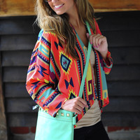 RESTOCK: Cover Me In Aztec Cover Up: Multi | Hope's