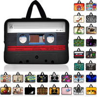 """Neoprene Laptop Sleeve Case Cover For 7 8 10 12 13 15 17 17.3 inch 14.1"""" Notebook Netbook Mini PC Capa Para Notebook 15.6 13.3 #"""