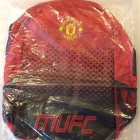 Manchester United FC Official Fade Backpack NEW
