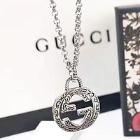 GUCCI New fashion letter pendant necklace women accessory