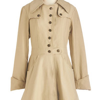 Nick & Mo Long Long Sleeve Swell-Read Trench