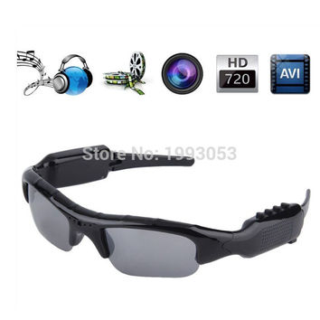 8GB Mini HD Cam Sun Glasses Eyewear Digital Video Recorder Glass Camera Mini Video Sunglasses Technology