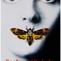 Silence of the Lambs Death's Head Moth Poster 11x17