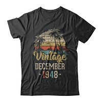 Retro Classic Vintage December 1948 72th Birthday Gift