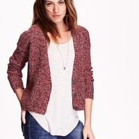 Old Navy Womens Cropped Cardigans