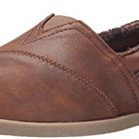 BOBS from Skechers Women's Chill Luxe Shoe, Brown, 8 M US