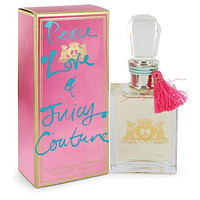 Peace Love & Juicy Couture by Juicy Couture Eau De Parfum Spray 3.4 oz
