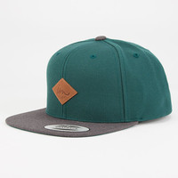 Imperial Motion Alvin Mens Snapback Hat Green Combo One Size For Men 27842754901