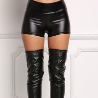Patent Leather Shorts, Almost Gone 🔥🔥