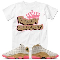 Fresh Queen Air Jordan 13 Retro Chinese New Year T-Shirt