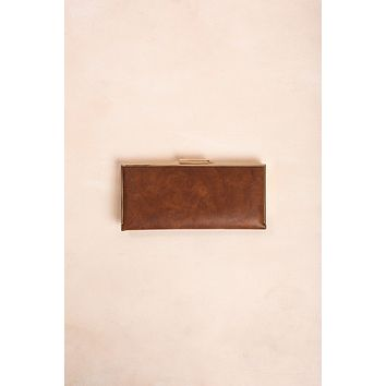 Tammy Faux Leather Convertible Clutch
