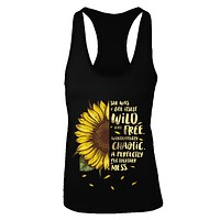 She Was Life Itself Wild And Free Vintage Sunflower