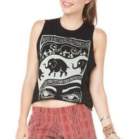 Brandy ♥ Melville |  Sadie Elephant Tank - Graphic Tops - Clothing