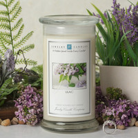 Lilac Jewelry Candle