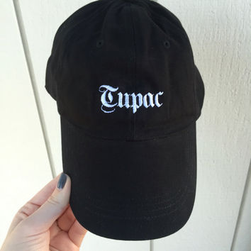 Tupac Embroidered Hat