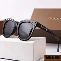 Gucci Woman Fashion Summer Sun Shades Eyeglasses Glasses Sunglasses