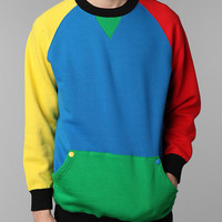 Urban Outfitters - Lazy Oaf Colorblock Crew Sweatshirt