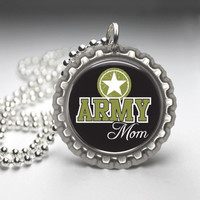 Military Mom Support Necklace