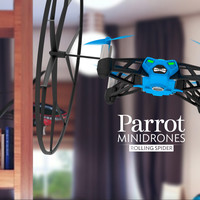 Parrot Minidrones Rolling Spider, Fly and roll anywhere!