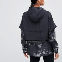 Nike Space Print Packable Jacket