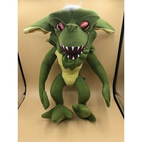 """Gremlins Green Stripe Plush Toy - Choose Either the 10"""" and/or 16"""" Soft Stuffed Animal"""