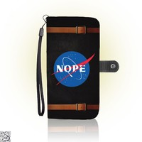 Nope Nasa, Funny Wallet Case