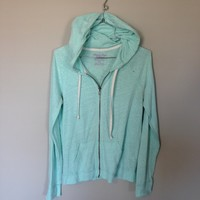 Baby Blue American Eagle light jacket!