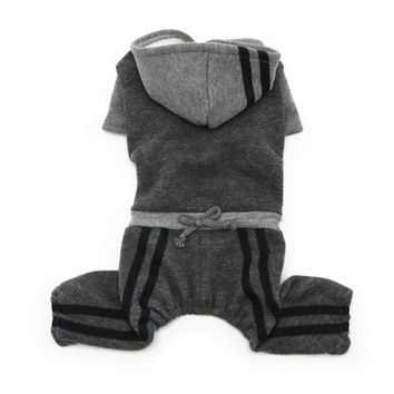 Lounge Tracksuit — Gray