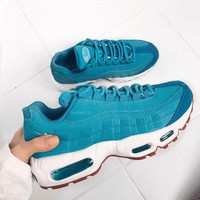 NIKE AIR MAX 95 Fashion Trending Women Men Sneakers B-CSXY Blue