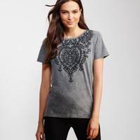 Floral Paisley Graphic T