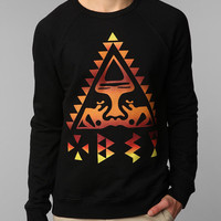 Urban Outfitters - OBEY Triangle Crewneck Sweatshirt