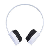 Kid Safe Bluetooth Wireless Rechargeable Stereo Headset w/Volume IQ Technology HD-100 (White)