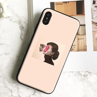 Aesthetic pink Pastel Collage coque Soft Silicone Phone Case Cover Shell For Apple iPhone 5 5s Se 6 6s 7 8 Plus X XR XS MAX