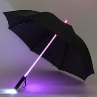 led light flashlight umbrella gift umbrella