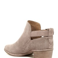 Katch Perforated Ankle Bootie