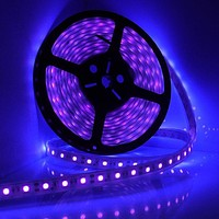 UV, Ultraviolet Powerful SMD5050 IP68 Waterproof 100% Submersible Outdoor 16.4 ft./5 Meter 300 LED lights
