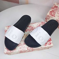 Dior 20 new leather slippers