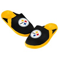 Steelers Youth Jersey Mesh SLIDE SLIPPERS New -  SHIP - Pittsburgh Steelers