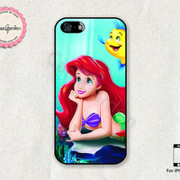 Ariel Little Mermaid iPhone 5 Case, iPhone Case, iPhone Hard Case, iPhone 5 Cover, Case for iPhone 5