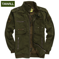 TAWILL 2016 Military jean Army tactical bomber Men Jackets Coats Autumn Air force one Casual men's jacket Brand Clothing 331