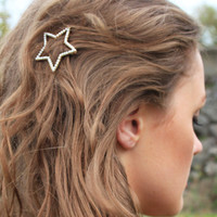 Pearly Star Hair Slide