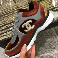 ❤shosouvenir❤  Women Fashion Run Sneaker