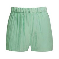 Browns fashion & designer clothes & clothing | ACNE | ?Bacall? crepe satin track shorts
