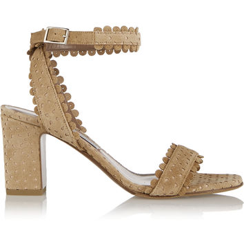 Tabitha Simmons - Leticia perforated suede sandals