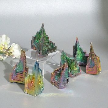 Bismuth Crystal Pyramid Temple
