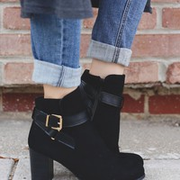 Love Letters Booties - Black