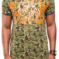 Camouflage Extended Tee